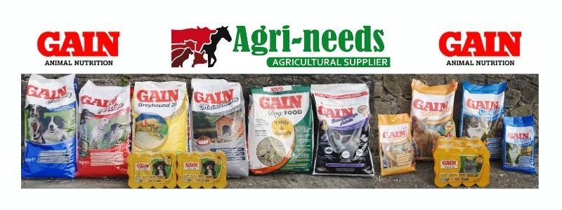 _gain pet food range
